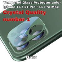 Tempered Glass Camera kamera Full cover Iphone 11 Pro Max 11pro Color