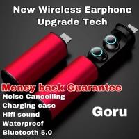 Earphone TWS wireless S5 Headset bluetooth Original Noise Cancelling