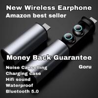 Earphone wireless Headset Bluetooth BASS sport TWS Original Bass music