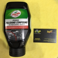 Turtle Wax Premium Polishing compound