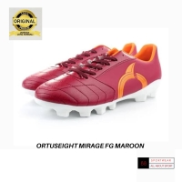 SEPATU BOLA ORTUSEIGHT FOOTBALL MIRAGE FG MAROON ORTRANGE WHITE
