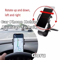 Magnetic dashboard car phone mount holder grip mobil hp iphone android
