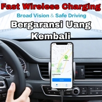 Wireless Car Charger Qi Fast Charging Holder ac mobil Iphone Samsung