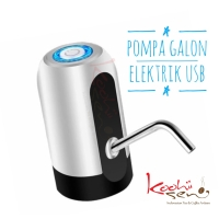 Pompa Galon Elektrik USB 1500 mA - Garansi - Hotel Resto Cafe