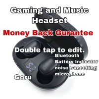 Earphone Airdots Wireless Bluetooth noise canceling Game Music headset