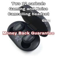 Earphone earbuds TWS12 original sound Gaming Xiaomi Headphone wireless