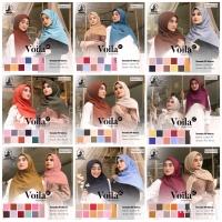 Voila Laser Cut umama scarf hijab jilbab kerudung segiempat