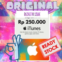 Itunes Gifts Card Indonesia 250 K