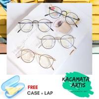 Frame kacamata axelo wanita - free lensa minus / silinder / plus