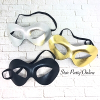 Topeng Kain Polos zoro (banyak warna)/ Topeng Pesta Kostum/ Masquerade