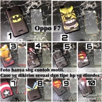 Man Case 360 softcase oppo F7 superheroes avengers