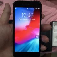 Apple iPhone 7 128gb Jetblack Ex SG Pemakaian Pribadi Mulus