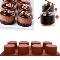 cetakan kue, coklat, puding, es / Bentuk Circle. cetak silikon