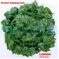 Lusinan Srigading Kecil/Daun Rambat/Rumput Plastik/Busa Bunga/Oasis