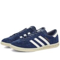 "Sepatu adidas classic HAMBURG"" navy blue original"