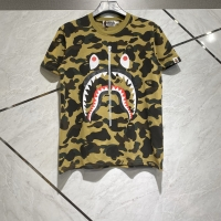Kaos bape shark yellow armyy