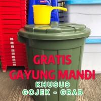 (GOJEK)Ember 80 liter+ Tutup/Tong Ember besar / Tempat sampah besar