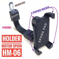 Universal Mount Holder HP/GPS / Tempat holder hp Motor HM-06