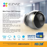 HIKVISION EZVIZ MINI PANO 360 PANORAMIC VIEW 3MP
