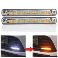 X-BRIGHT DRL LED LAMPU VARIASI MOBIL SEIN BERJALAN RB086