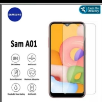 TEMPERED GLASS BENING GOOD QUALITY SCREEN GUARD FOR SAMSUNG A01 NEW