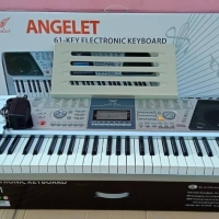Keyboard piano 61key 200 tones rythm Angelet XTS-661 ORIGINAL