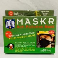 Masker Filter Carbon Active / Karbon Aktif Anti Polusi MASKR