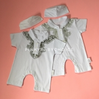Jumper koko bayi 0-6 bulan / romper koko baby newborn / baju muslim