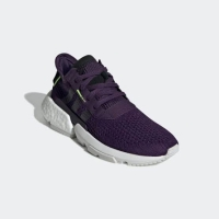 Sepatu Adidas POD boost purple original