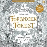 Buku Mewarnai Anti Stress Forbidden Forest Adult Coloring Book