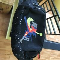 Nike jordan + tas + new + black