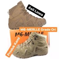 M6-MERLLE Zephyr GTX Mid gurun Hiking Boots PK Sepatu Tactical Shoe