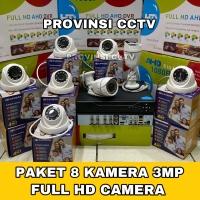 PROMO MURMER BOS / PAKET CCTV 3MP 8 CHANNEL 8 KAMERA FULL HD / 500GB