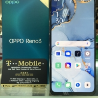 OPPO RENO3 / RENO 3 RAM 8GB 128GB - BLACK - 44MP FRONT CAMERA/20x ZOOM