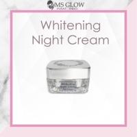 Whitening night cream msglow