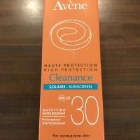 Avene sunblock solaire spf 30 kulit berminyak berjerawat