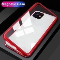 Redmi Note 9 Pro CASE PREMIUM MAGNETIC Glass Case Casing Kaca Belakang