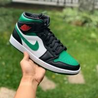 Nike Air Jordan 1 Mid Pine Green