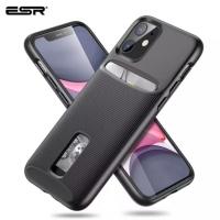 Iphone 11 Pro Max ESR Wallet Armor Case Slim Premium Credit Card-Black