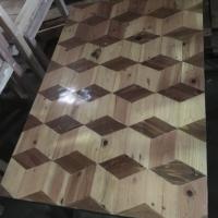 Meja nongki/santuy 3d kayu jati belanda