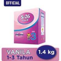 S26 Procal Tahap 3, Vanilla, 1400 gram (Free Gift Huggies Dry Pants)