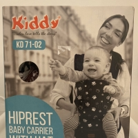 Kiddy Hiprest KD 71-02 Baby Carrier with Hat (maroon)