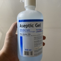 Aseptic Gel Onemed , Hand sanitizer , 500ML