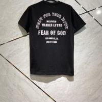 Kaos fear of god black fontstyle