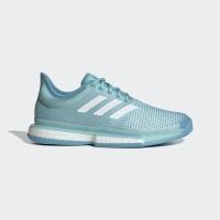 Adidas Men SoleCourt Parley Tennis Shoes Blue Original