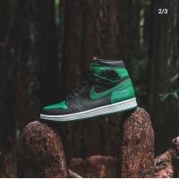 Nike air jordan hi og pine green