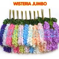 Daun Bunga Artificial/ Daun Bunga Dekorasi/ Wisteria Jumbo
