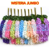 Daun Bunga Gantung/ Daun Bunga Sintetis/ Daun Bunga Hiasan Wisteria