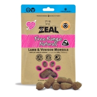 Zeal Lamb Venison Freeze Dried - Dog Snack Food Makanan Anjing Hewan