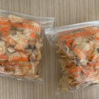 Keripik singkong lumba-lumba Asin 200Gr - Camilan / snack / oleh2